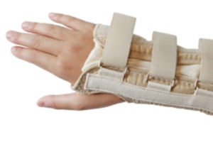 wrist suffering from repetitive motion injuries