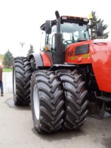 Tractors maintanance at Scher, Bassett & Hames.