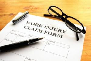 Work Injury Claim Form in San Jose