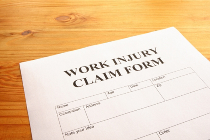 Work Related Injury Claim Form